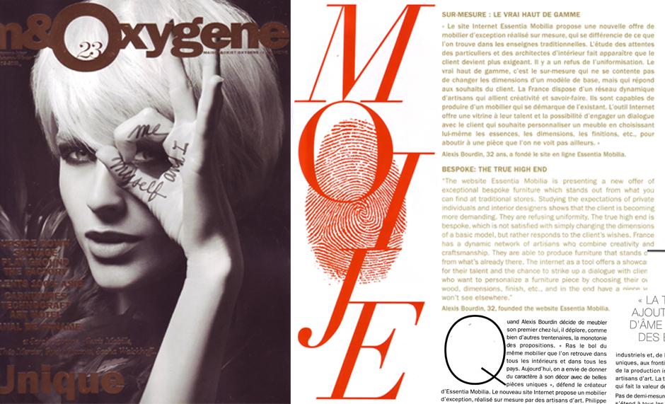 M et Oxygene, magazine de Maison et Objet et de la Design Week