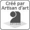 Créé par notre artisan d'art