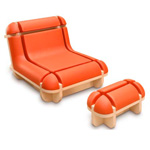 Fauteuil Quand Jim se relaxe by Matali Crasset