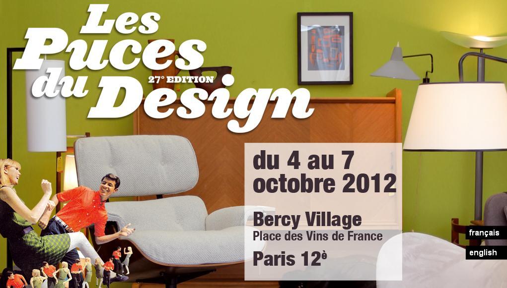 Les puces du design bercy village le blog d 39 essentia for Puces du design paris