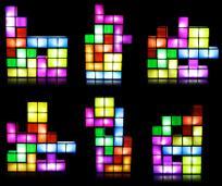 lampe modulable et multicolore