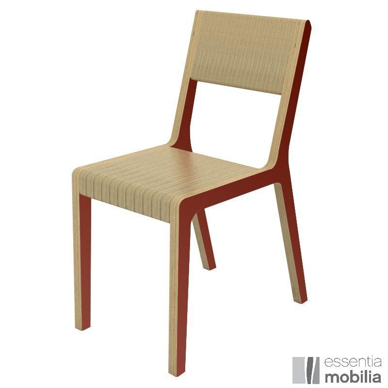 Le retour du rouge dans la d co s lection de mobilier - Chaise design couleur ...