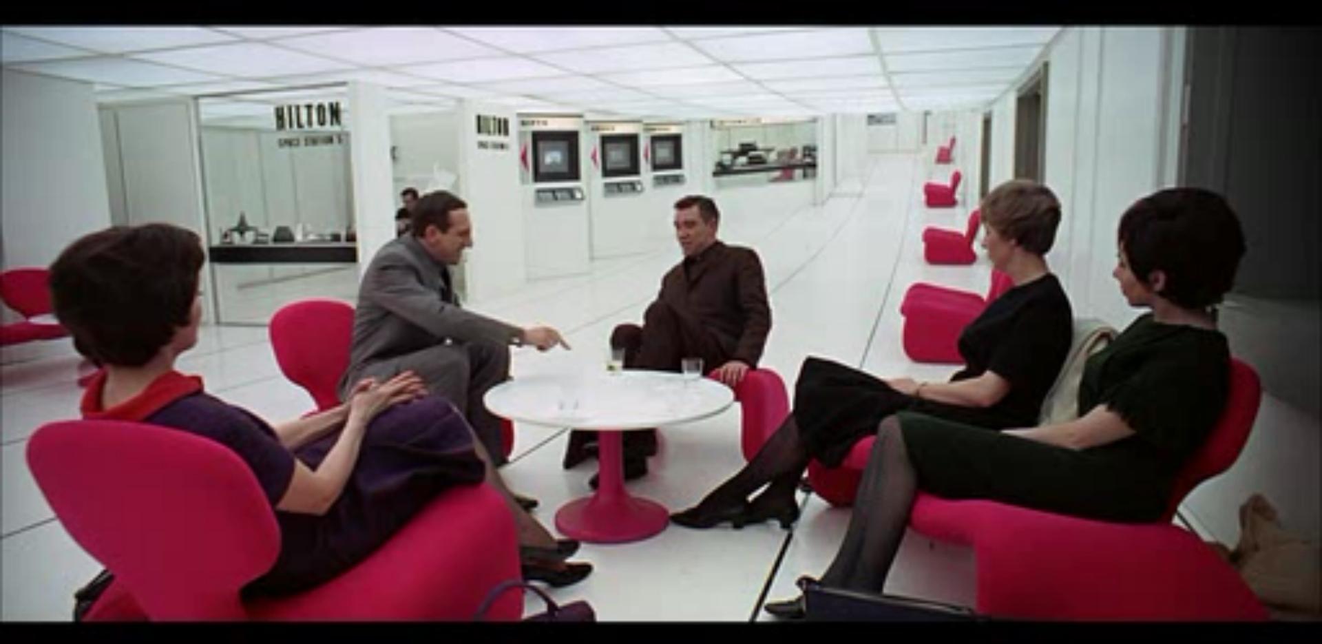 2001 a Space Odyssey - 2001 Odyssée de l'espace - Eero Saarinen - Tulip Chair - Knoll
