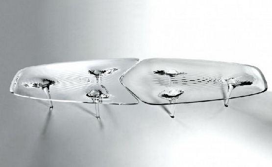Zaha Hadid - Galerie JGM - Liquid Glacial