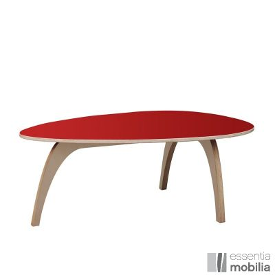 Idée cadeau pour Noel - Table basse arrondie colorée