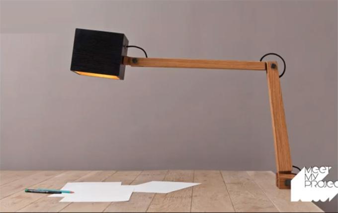 Lampe Grab de Olivier Dollé - Meet my Project - Lieu du Design
