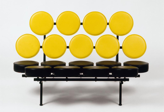 Marshmallow Sofa - George Nelson - 1956 - Collection Vitra Design Museum