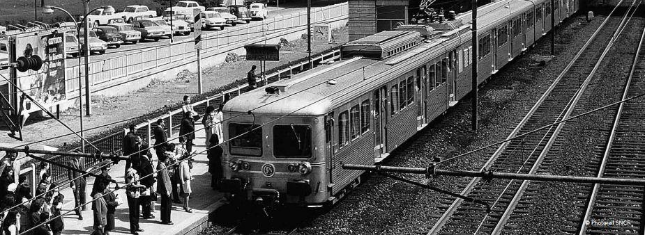 Petits Gris - Z6100 - SNCF - Mobilier vintage