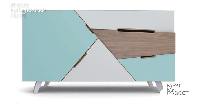 Tangram de At Once édité par l'Edito - Meet my Project - Lieu du Design