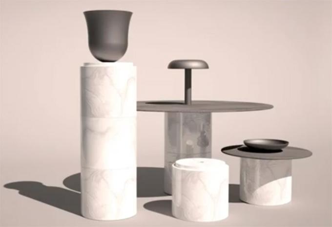 Totems de Albert Schrurs édités par Allegory - Meet my Project - Lieu du Design
