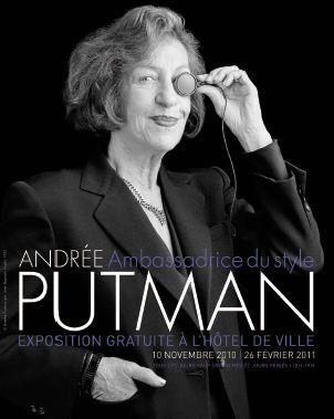 Andrée Putman - ambassadrice de style - Hotel de Ville de Paris