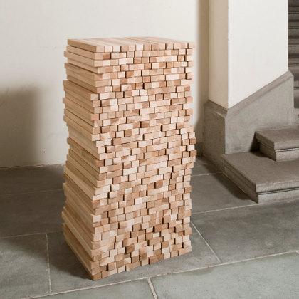 Semainier - Bahut 2012 - Design Boris Dennler - frêne ou noyer - Arca ébénistes - Grand Prix de la Creation - Ateliers de Paris