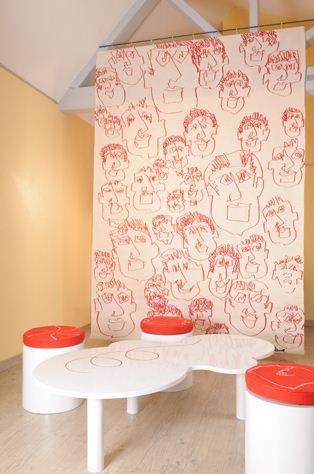 Cécile Tauvel Bonne - Atelier Fil de l'Art - Mobilier avec l'ébéniste Franck Bernay