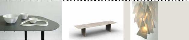 Jean-François Dingjian Paysage de Table - Sylvain Rieu Piquet Table basse acier céramique - A&P Poirier luminaire porcelaine métal